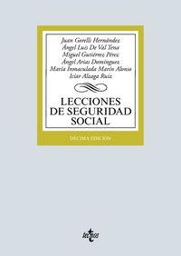 (10 ED) LECCIONES DE SEGURIDAD SOCIAL