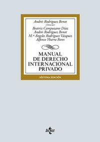 (7 ED) MANUAL DE DERECHO INTERNACIONAL PRIVADO