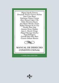 (11 ED) MANUAL DE DERECHO CONSTITUCIONAL