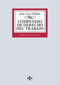 (13 ED) COMPENDIO DE DERECHO DEL TRABAJO