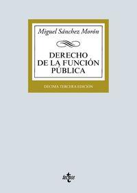 (13 ED) DERECHO DE LA FUNCION PUBLICA