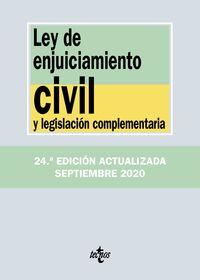 (24 ED) LEY DE ENJUICIAMIENTO CIVIL Y LEGISLACION COMPLEMENTARIA