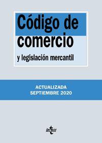(37 ED) CODIGO DE COMERCIO Y LEGISLACION MERCANTIL