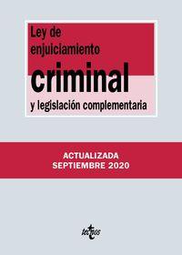(37 ED) LEY DE ENJUICIAMIENTO CRIMINAL Y LEGISLACION COMPLEMENTARIA