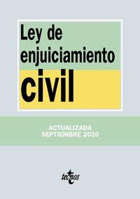 (4 ED) LEY DE ENJUICIAMIENTO CIVIL