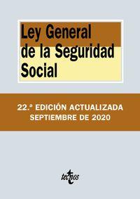 (22 ED) LEY GENERAL DE LA SEGURIDAD SOCIAL