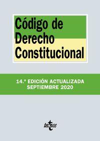 (14 ED) CODIGO DE DERECHO CONSTITUCIONAL