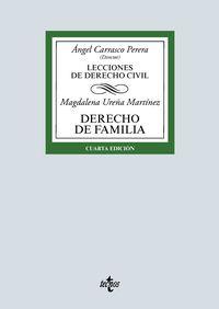 (4 ED) DERECHO DE FAMILIA - LECCIONES DE DERECHO CIVIL