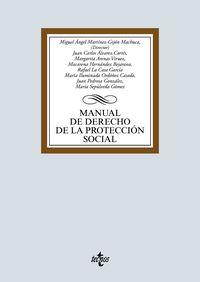 manual de derecho de la proteccion social - Miguel Angel Martinez-Gijon Machuca / Margarita Arenas Viruez / [ET AL. ]