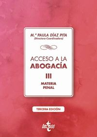(3 ED) ACCESO A LA ABOGACIA III - MATERIA PENAL