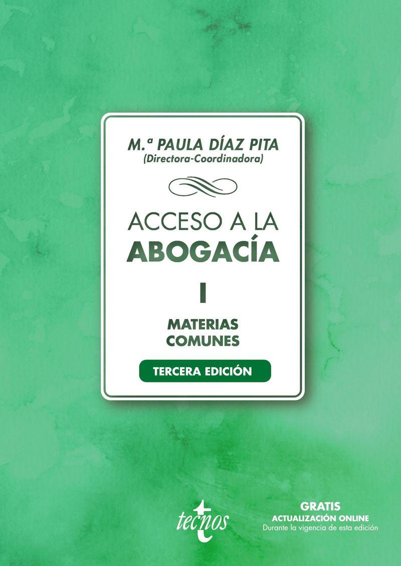 (3 ED) ACCESO A LA ABOGACIA I