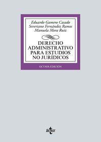 (8 ED) DERECHO ADMINISTRATIVO PARA ESTUDIOS NO JURIDICOS