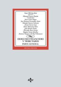 (10 ED) DERECHO FINANCIERO Y TRIBUTARIO - PARTE GENERAL