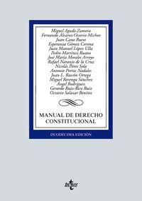 (12 ED) MANUAL DE DERECHO CONSTITUCIONAL