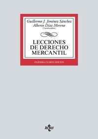 (24 ED) LECCIONES DE DERECHO MERCANTIL