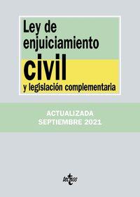 (25 ED) LEY DE ENJUICIAMIENTO CIVIL Y LEGISLACION COMPLEMENTARIA