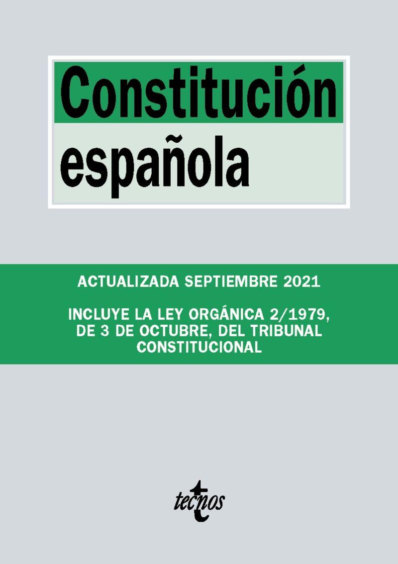 (25 ED) CONSTITUCION ESPAÑOLA