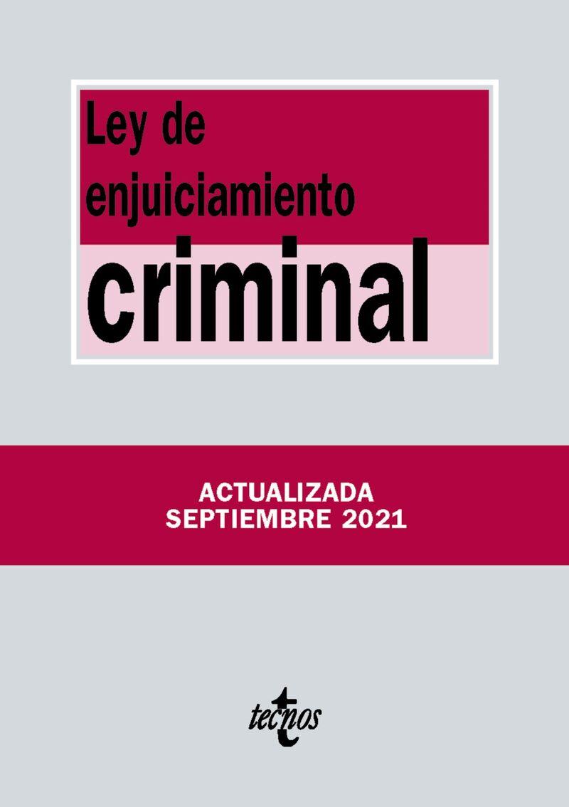 (5 ED) LEY DE ENJUICIAMIENTO CRIMINAL