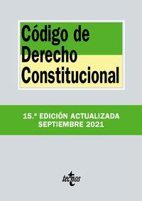 (15 ED) CODIGO DE DERECHO CONSTITUCIONAL