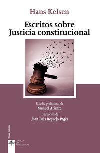 ESCRITOS SOBRE JUSTICIA CONSTITUCIONAL