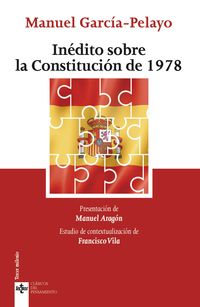 INEDITO SOBRE LA CONSTITUCION DE 1978