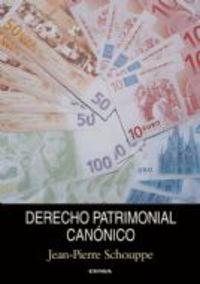 DERECHO PATRIMONIAL CANONICO