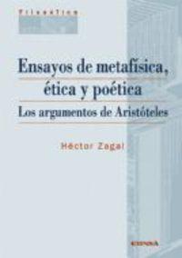 Ensayos De Metafisica, Etica Y Poetica - Hector Zagal