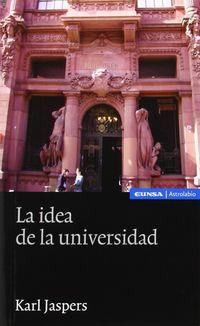 La idea de la universidad - Karl Jaspers