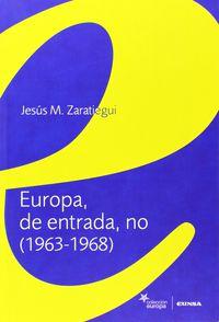 Europa De Entrada No - Jesus Maria Zaratiegui