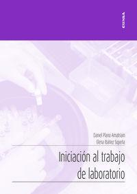 INICIACION AL TRABAJO DE LABORATORIO