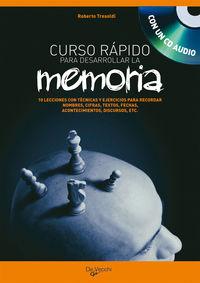 Curso Rapido Para Desarrollar La Memoria (+cd) - Roberto Tresoldi