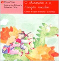 O CHINESIÑO E O DRAGON VOADOR - LETRA MANUSCRITA