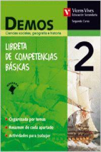ESO 2 - SOCIALES NAVARRA - DEMOS LIBRETA COMPETENCIAS BASICAS