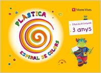3 ANYS - PLASTICA (BAL) - ESPIRAL COLORS