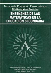 ENSEÑANZA DE LAS MATEMATICAS EN LA EDUCACION SECUNDARIA