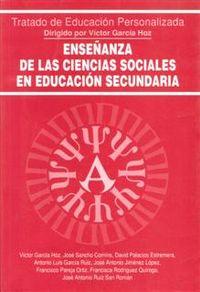 ENSEÑANZA DE LAS CIENCIAS SOCIALES EN LA EDUCACION SECUNDARIA