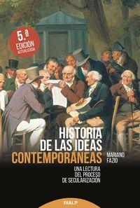 (5 Ed) Historia De Las Ideas Contemporaneas - Mariano Fazio Fernandez