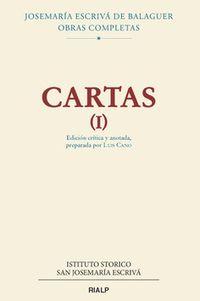 CARTAS (I) (JOSEMARIA ESCRIVA DE BALAGUER)