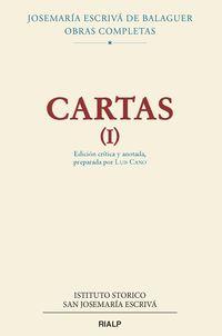 CARTAS I (ED CRITICO-HISTORICA)