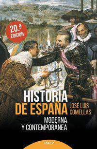 (20 ED) HISTORIA DE ESPAÑA MODERNA Y CONTEMPORANEA