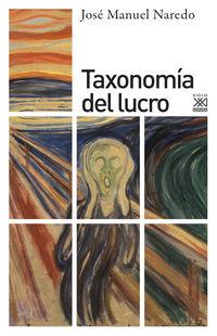 Taxonomia Del Lucro - Jose Manuel Naredo