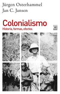 COLONIALISMO - HISTORIA, FORMAS, EFECTOS