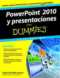 POWER POINT 2010 Y PRESENTACIONES PARA DUMMIES