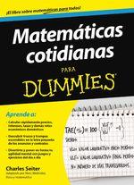 Matemáticas Cotidianas Para Dummies - Charles Seiter