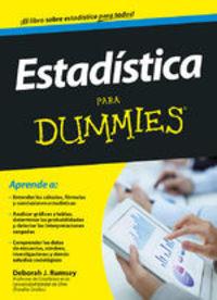 Estadística Para Dummies - Deborah J. Rumsey