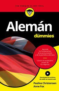 Aleman Para Dummies - Paulina Christensen / Anne Fox