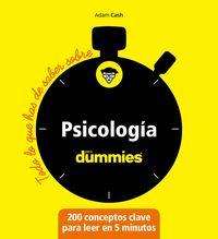PSICOLOGIA - TODO LO QUE DEBES SABER SOBRE