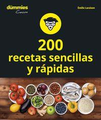 200 RECETAS DE COCINA SENCILLAS Y RAPIDAS