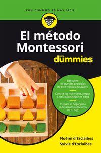METODO MONTESSORI PARA DUMMIES, EL