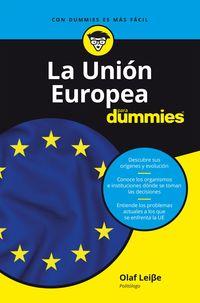 UNION EUROPEA PARA DUMMIES, LA
